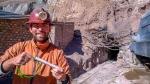W kopalni srebra w Potosi - Boliwia