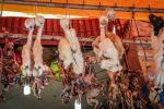 Ususzone płody lam na targu czarownic w La Paz